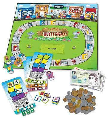 Learning Resources Buying It Right Shopping Game for Kids - NEW