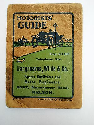 1920s Motorists Guide - Ford / Austin ? Service Department Hargreaves, Wilde, Co