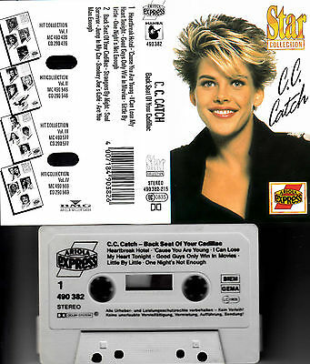 C.C. CATCH - Back Seat Of Your Cadillac ★ MC Musikkassette Cassette