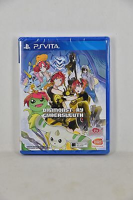 NEW PSV PS Vita Digimon Story: Cyber Sleuth (Asian English, Physical Version)
