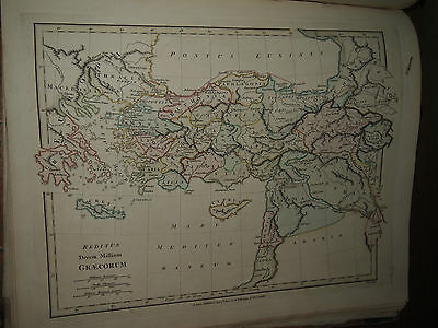 1797 ATLAS CLASSICA being 26 MAPS by WILKINSON ROME GREECE PERSIA PARTHIA BRIT