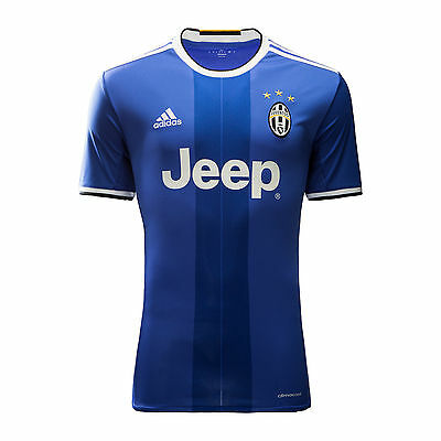 Brand New Genuine Adidas Juventus 2016/17 Away Shirt  Adults Large  Dusty