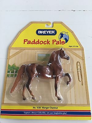 Breyer Paddock Pals 1636 Morgan Chestnut Horse New In Package Others Available