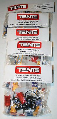 Spanish Lego Original Tente Space Astro 5 Dif Sealed Bags Jet Laser Energizerect