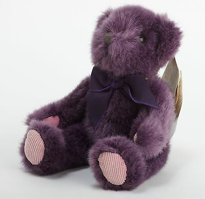 Purple Russ Teddy Bear - Bears from the Past - Handcrafted Special Collection