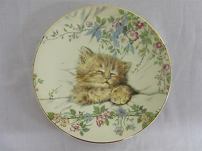 "Hamilton Collection Kitten Classics ""Cat Nap"" collector's plate"