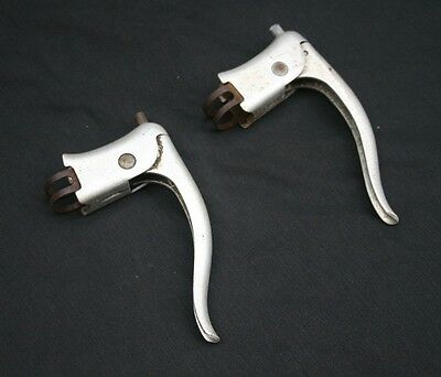 Vintage 'ARRET' Alloy Brake Levers- Pair for Classic Sports Racing Cycle