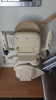 'Brooks' left sided straight stair lift
