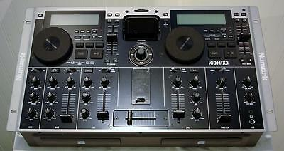 Numark Icdmix3 Dual Mp3/cd Performance System With Ipod Dock Xlnt Please Read