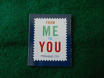 "Postage Stamp Magnet ""From Me To You"""