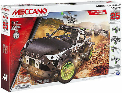 Meccano 6026397 25 Model Set Rally brand new FREE SHIPPING
