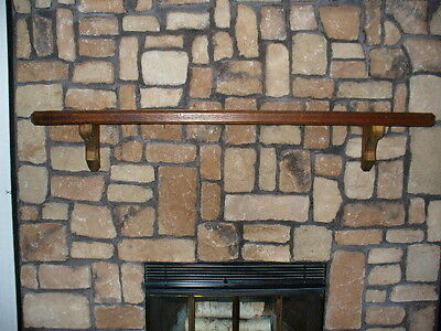 Solid Wooden Fireplace Mantel