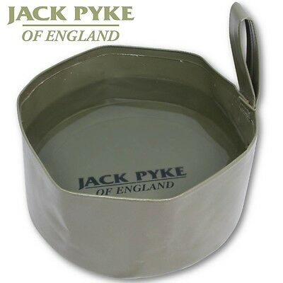 Jack Pyke Folding Dog Bowl Walking Fishing Camping Hunting Hiking