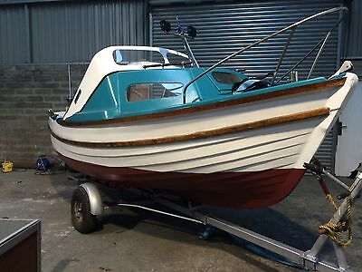 16ft Starley Sea Nymph Boat With Trailer. REDUCED!