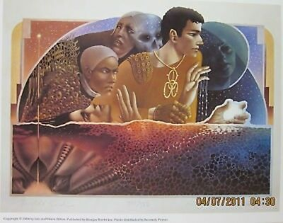 Leo and Diane Dillon - World's End - Signed + Numb. Pr.