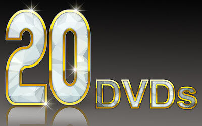 Ultimate Hair Dressing Package:20 DVDs/Hair Tuition/Bridal/Colour/Cut/Toni Guy 2