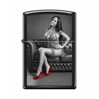 Zippo Very Rare Red Shoe Girl Series Iv #10 New