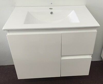 Brand New Wall Hung Vanity On Sale-750mm