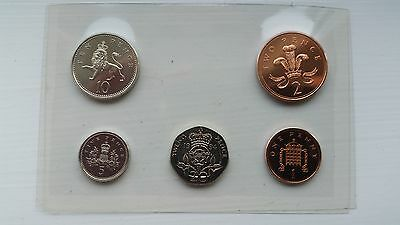 A Collection Of Gb Royal Mint Issued 1994 Unc 20P/10P/5P/2P/1P-Total Of 5 Coins