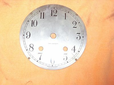 """Made In England """" The Perfecta """" Clock Face Some Ware 13.8 Cm Across"""