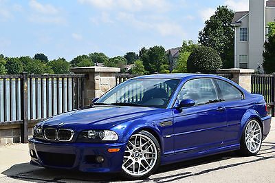 2005 BMW M3 Base Coupe 2-Door 2005 BMW M3 COMPETITION PKG+SUNROOF DELETE+MANUAL M-CLOTH SEATS BREMBO BBK PSS9