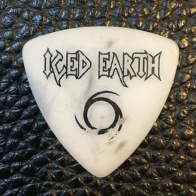 Guitar Pick - Iced Earth - Real Tour Pick!