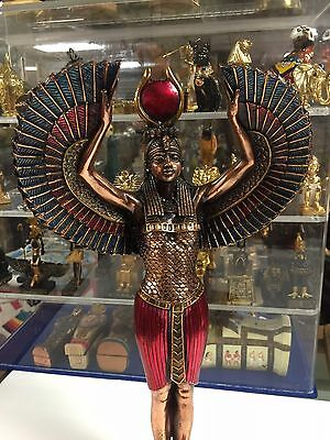 Unique Egyptian Mother Goddess ISIS Hand Carved  Statue Made In Egypt