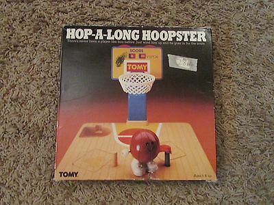 Hop A Long Hoopster Tomy Wind Up Toy 1987 With Box And Instructions Basketball