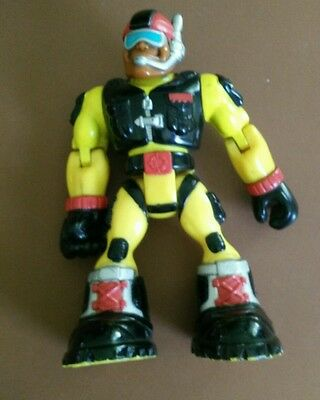"""2001 mattel fisher price rescue heroes action figure 7"""""""