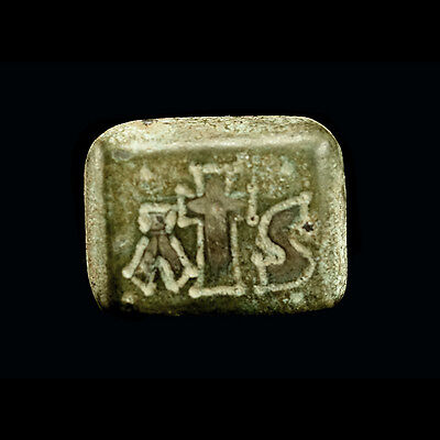 Early Byzantine bronze weight x9919