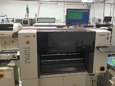 SMT Assembleon Topaz Philips Pick and Place  Excellent 18,500 HOURS LOW HOURS