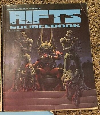 Rifts RPG Source Book Sourcebook