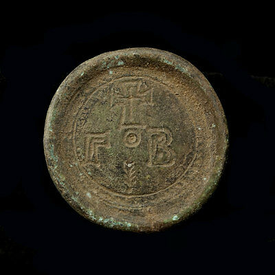 Early Byzantine bronze weight x9882
