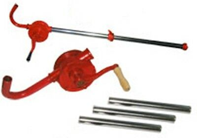 Rotary Hand Crank Drum Barrel Tank Pump for Liquid Oil Fuel Water and More