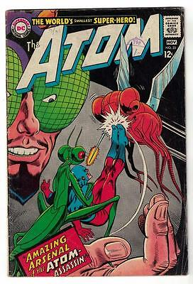 DC Comic ATOM Silver age  #33 FN-  superman 1967