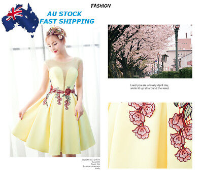 AU New 2Pcs Rose Flower Embroidered Collar Sew Patch Applique Badge Bust Dress