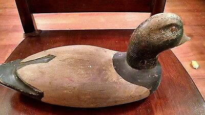Antique Wooden Duck Decoy from Very Old Estate on Long Beach Island