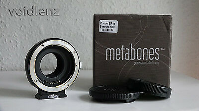 METABONES Canon EF Lens to Sony NEX E-Mount Camera Lens Mount Adapter MARK II 2