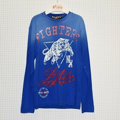 Noaxs T-Shirt Manica Lunga Fighters Tigre