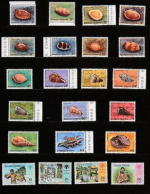 """""""samoa""""     100 + Not Used Or Hinged Stamps"""