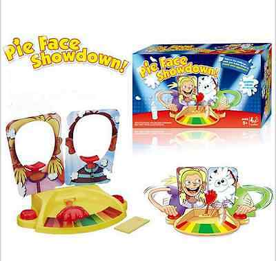 UK Pie Face Showdown New Game Dual Challenge ready to ship Family Time Brand New