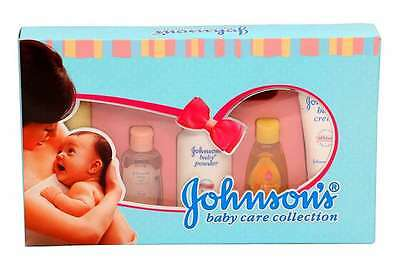Johnson's traveler baby gift set 5 Items Wash bathroom Shampoo Free Shipping