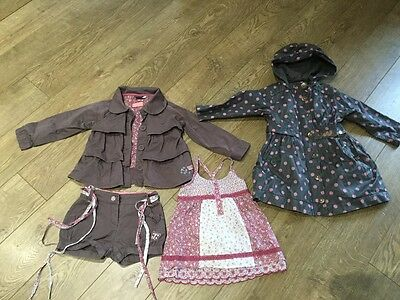 Stunning SERGENT MAJOR girls 4 piece outfit. Age 3, 96cm