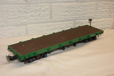 16mm Narrow Gauge SM32 LARGE Bachmamnn Flat Wagon with 32mm wheelsets