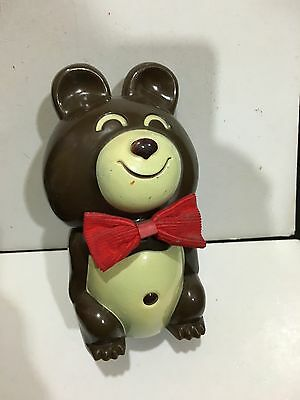 VINTAGE NOVELTY BOO BOO THE BEAR RADIO AM(MW)- BAND FROM THE 1970s-