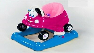 Little Tikes Cozy Baby Walker Princess PINK NEW
