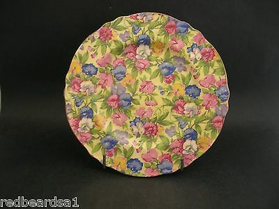 China Replacement Royal Winton Grimwades Sweet Pea Chintz Tea Plate c1930's