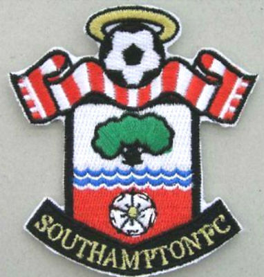 Southampton FC Football Club Crest Patch Embroidered Iron on Badge Applique 8cm
