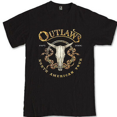 THE OUTLAWS tee southern rock band Hughie Thomasson S M L XL 2XL 3XL t-shirt