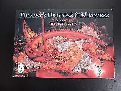 Tolkien's Dragons & Monsters - Book of Postcards
